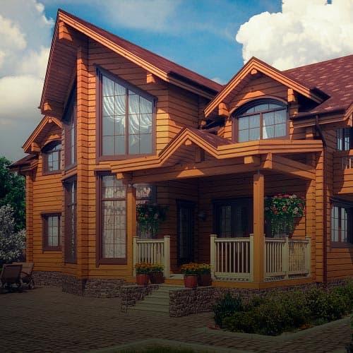 Строительство дома из бруса в Новосибирске — компетенция нашей компании