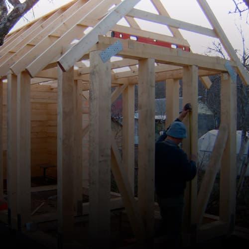 Строительство бани своими руками (пошаговое строительство бани из бруса)