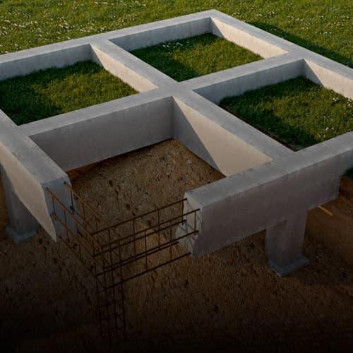 Какой фундамент подойдет для дома из бруса